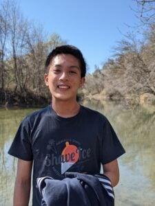 Upper body shot of Ian Chuang